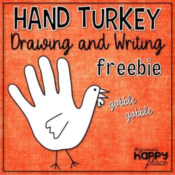 {Freebie!} Thanksgiving Hand Turkey