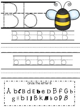Freebie Handwriting Practice Sheets