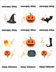 99 Cents Happy Halloween Card with Bonus music flash cards