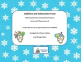 Freebie Happy New Year Addition and Subtraction Facts