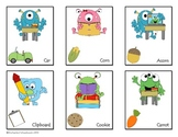Freebie Hard C and Soft C Monsters Card Game