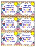 """Freebie: Have a """"Bucket Full"""" of Fun End of the Year Gift Tags"""