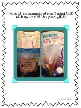 "Freebie: Have a ""Bucket Full"" of Fun End of the Year Gift Tags"