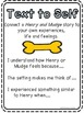 Freebie!  Henry and Mudge Text Connections Posters!