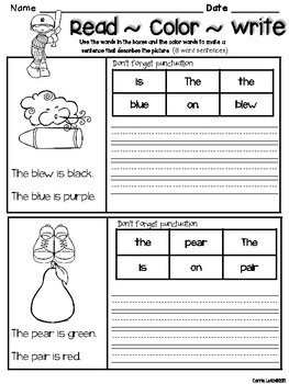 Homophone Worksheets and Activities