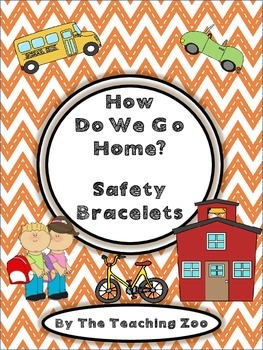 {Freebie} How Do We Get Home? Safety Bracelets!