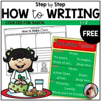 Freebie How To Writing ~ How to Make Cookies ~ Step by Ste