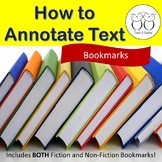 How to Annotate Text Bookmarks Fiction and Non-Fiction