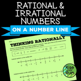 Rational & Irrational Numbers on a Number Line