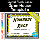 Freebie - Identifying Numbers 0 - 20 Flash Card Powerpoint