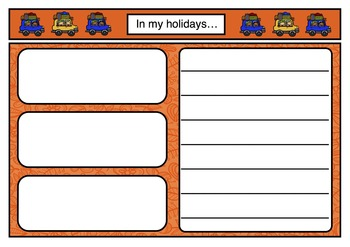 Freebie 'In my Holidays' Template