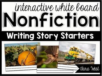 Freebie! Interactive Whiteboard Nonfiction Writing Starters