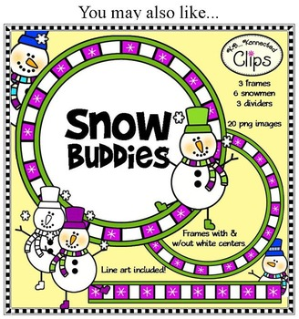 Freebie! It's Snow Christmas - Clip art