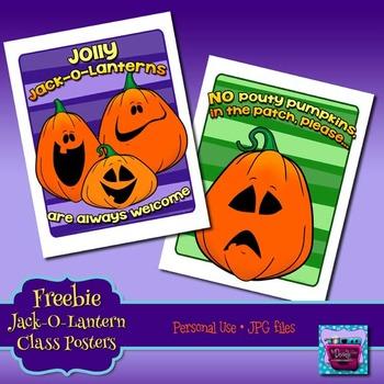 Freebie - Halloween Attitude Posters