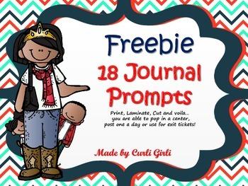 Freebie Journal Prompts (Natural pics)