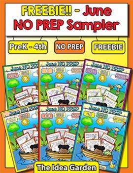 Freebie - June NO PREP Sampler