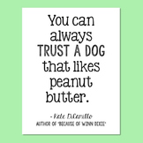Freebie! Kate DiCamillo, Author of Because of Winn Dixie,