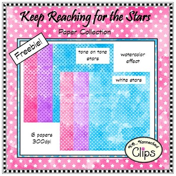 Freebie! Keep Reaching for the Stars - Paper Collection