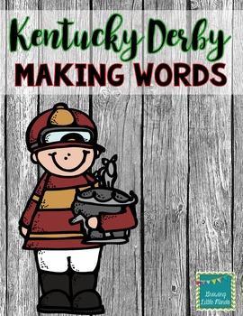 Freebie Kentucky Derby Making Words