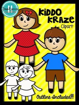 Kiddo Kraze Clipart
