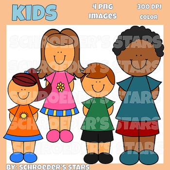 Freebie!  Kids Clipart