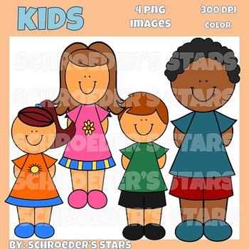 Freebie!  Kids Clipart