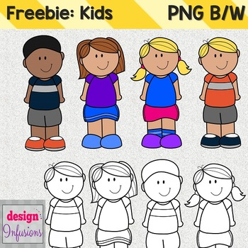 Freebie!! Kids Clipart