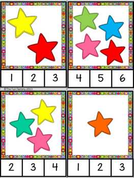 Freebie - Kindergarten CCSS Style - Count How Many 1-12