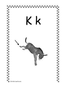Freebie: Kindergarten Consonants Back to School