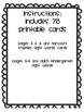 Freebie: Kindergarten Sight Words Flash Cards (Smaller  Version)