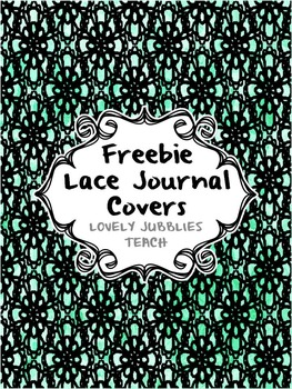 Freebie Lace Journal Covers
