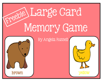 Freebie - Large Card Memory Game