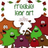 Freebie! Leaf Art {science}