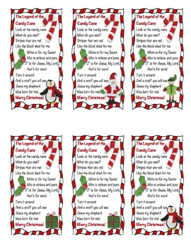 picture relating to The Story of the Candy Cane Printable titled Legend Of The Sweet Cane Worksheets Coaching Materials TpT