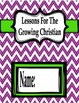 {Freebie} Lesson Booklet Covers