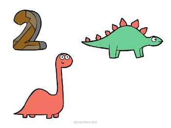 Freebie: Let's Count Dinosaurs 1-10