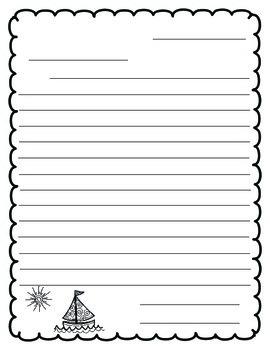 {Freebie} Letter Writing