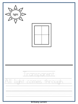 Freebie: Light and Shadows Supplemental Packet