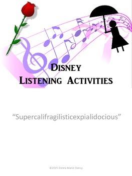 Freebie: Listening for The Elements of Music: Supercalifragilisticexpialidocious