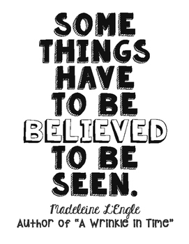 A Wrinkle In Time Quotes Freebie! Madeleine L'Engle Quote Poster   A Wrinkle in Time  A Wrinkle In Time Quotes