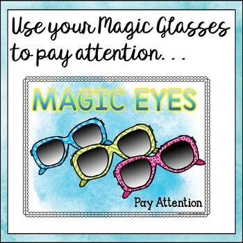Back to School Classroom Management Freebie: Magic Teaching Tools