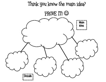 Freebie: Main Idea and Supporting Details
