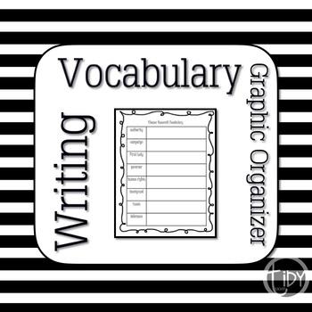 Freebie Mary McLeod Bethune Vocabulary