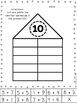 Freebie-Math Houses Posters & Worksheets