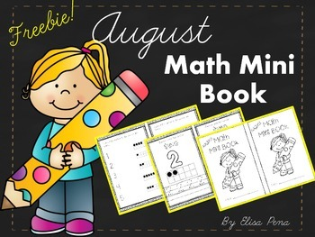 Freebie!!!  Math Mini Book