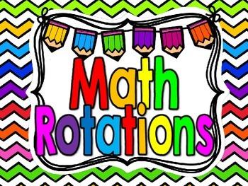 Freebie-Math Rotations Signs-Bright