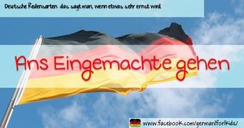 Freebie: Meme-Bundle Redewendungen, Verben, Deutschlandinfo, schwierige Wörter