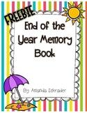 Freebie- Memory Book