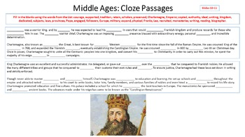 Freebie Middle Ages