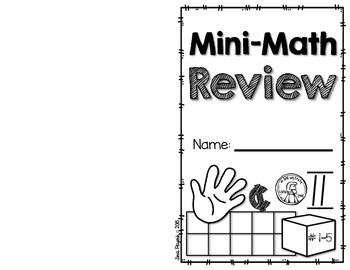 Freebie: Mini-Math Review for Numbers 1-5